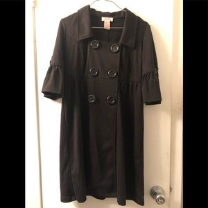 Candie's Lightweight Coat Dress
